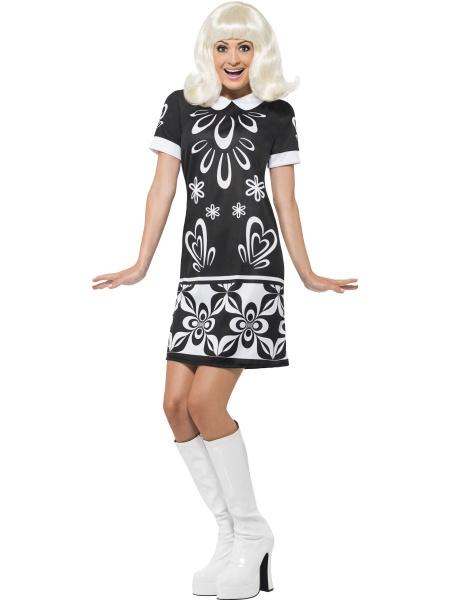 34103cc35f57 Kostým Missy 60. léta. Tento kostým z naší půjčovny představující šaty ...